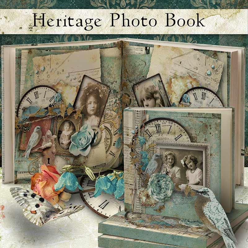 heritage photobook