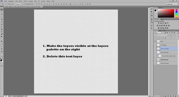 Curled Paper Tutorial