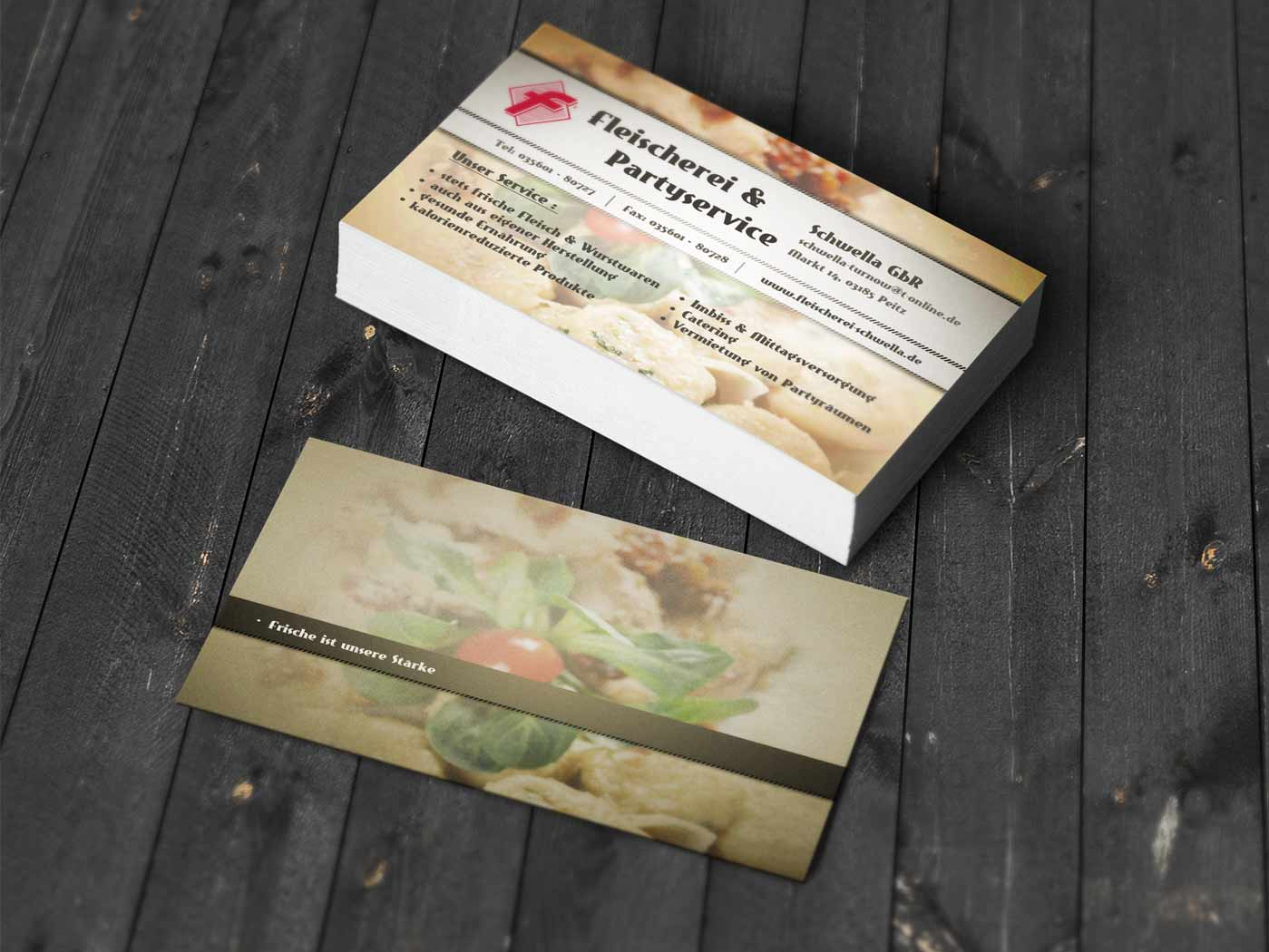 Business Card Design Service