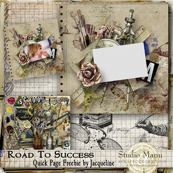 Road To Success - Quick Page Freebie